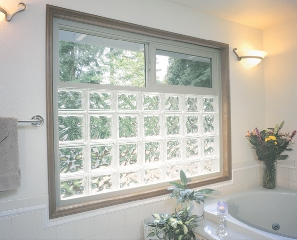 Glass blocks cambria glass for Glass block window design ideas